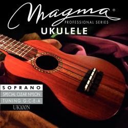 Magma struny pre ukulele Havajské ladění Sada