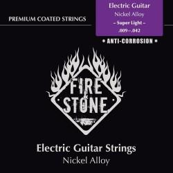 Fire&Stone Struny pre Elektrickou gitaru Slitina niklu Sada