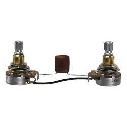 EMG Potentiometer Potisets Gitarre Geteilte Achse
