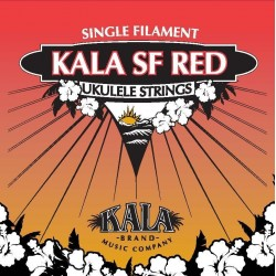 Kala Kala Red MF Soprano String Set with wound low G